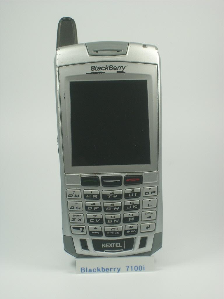 7100i rh altehandys de BlackBerry Push to Talk Icon Nextel 5